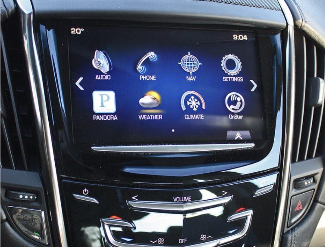 Cadillac console photo